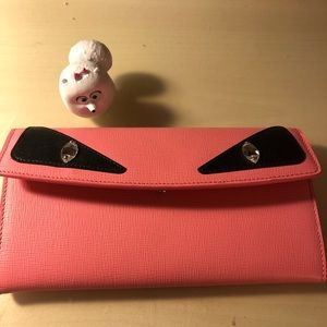 Fendi Brand new without tag monster Wallet